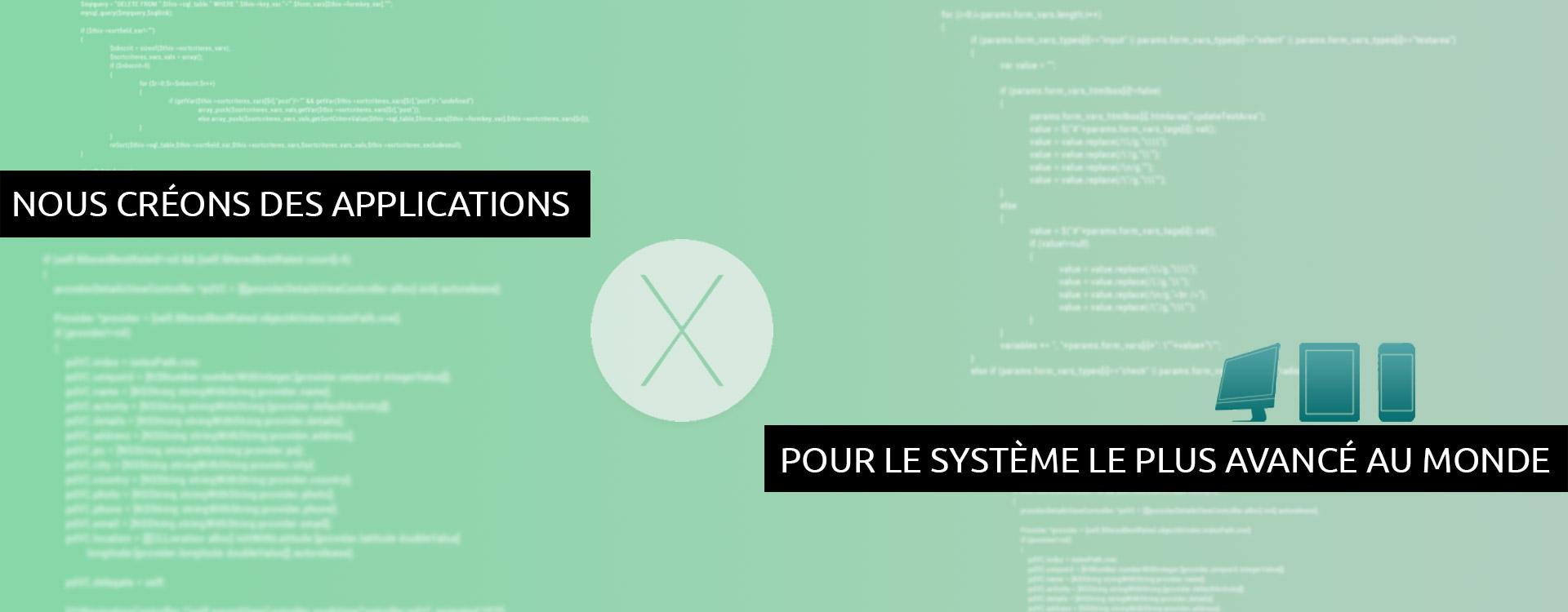 Développements iOS / macOS
